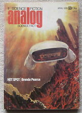 ANALOG April 1974 A Kind of Murder by Larry Niven