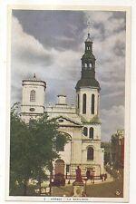 La Basilique, QUEBEC Vintage Canada Postcard
