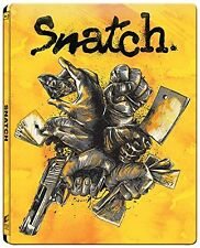 Snatch - Lo Strappo Blu Ray ( Steelbook - Metal box ) Brad Pitt