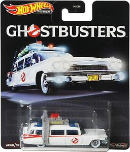 Hot Wheels 1:64 Scale Ghostbusters ECTO-1 (2020) Car - GJR39