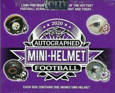 3 Box Celeb/Other 2020 Leaf Autographed Mini Helmet Box Break #2