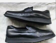 Men's Prada Slip-on shoes Leather uk 8 eu 42 US 8.5 Flats Soles authentic