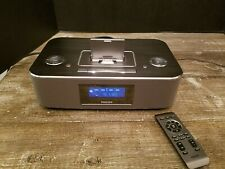 AWESOME Philips DC290B/37 IPOD/IPHONE Alarm Clock Speaker Dock - EXCELLENT