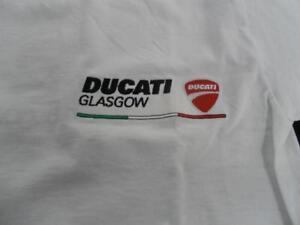 Ducati Glasgow T-Shirt White REDUCED