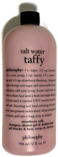 Philosophy Salt Water Taffy Strawberry Shampoo Shower Gel Bubble Bath 32oz
