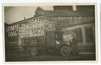 RPPC Coal Warehouse Pickup Truck Blacksmith New York City? Real Photo Postcard