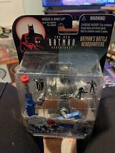 1998 The New Batman Adventures The Batman Micro Battel Headquarters  NEW SEALED