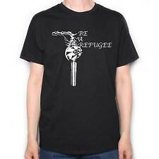 Be A Refugee T Shirt - Van Der Graaf Generator Hammill Classic Prog Rock T Shirt