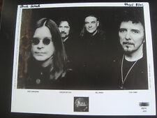 Black Sabbath original promo 8x10 photo press C