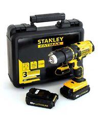 Taladro percutor 18V 1.3ah Fmc626c2k-qw Stanley
