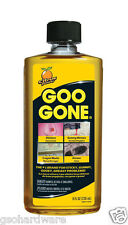 Goo Gone 8oz Citrus Solvent Cleaner Removes Stickers, Tape, Oil, Gum, Tar, etc.