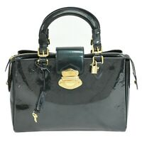 Louis Vuitton Melrose Avenue M93756 Monogram Vernis Leather Satchel Hand Bag