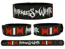 MOTIONLESS IN WHITE Rubber Bracelet Wristband Infamous Creatures