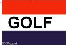 GOLF 5'x3' Flag