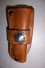 Custom Leather Sheath for Case xx Trapperlock  Single Blade (Tan C)