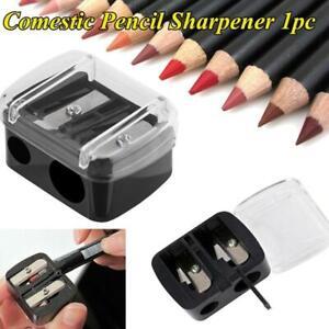 1x Double Holes Cosmetic Pencil Sharpener Pencil Sharpener For Eyeliner O0K0