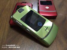 Motorola RAZR V3i - Green (Unlocked) Mobile Phone Refurbished UK 🇬🇧 STOCK•