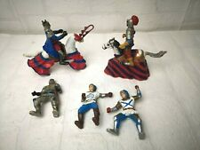 Elc Early Learning Centre 7 Figures Warrior Knights Horses Children Play- C439