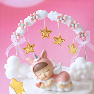 Star Tassel Arch Cake Toppers Decorations for Baby Shower Birthday Party Decor