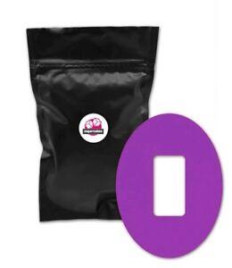 Dexcom G4 G5 G6 Adhesive Patches - waterproof, high quality (5pcs, purple)