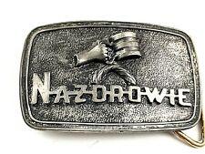 (Cheers/Fun/Prosperity) Belt Buckle Polish Naz Drowie