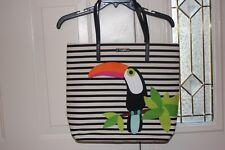Kate Spade Montigo Avenue Toucan Bon Shopper Tote Purse Bag