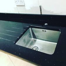 Quartz Black Mirror Kitchen Worktop- Sample