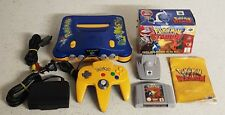 Pokemon N64 PAL Console with Box Pokemon Stadium Game and Transfer Pak