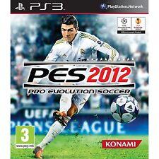 PS3 Pro Evolution Soccer 2012 PES 2012 Nuevo Precintado Pal España