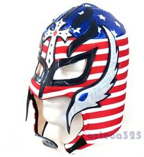 Rey Mysterio Adult Lucha Libre Wrestling Mask - USA