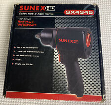 Sunex Tools 1/2 in. Drive Impact Wrench. SX4345. NEW.