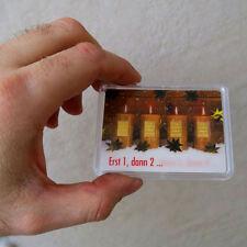 4 x 1 Gramm Gold 999,9 + ZERTIFIKAT ► 4g Goldbarren ► Weihnachten Kerzen