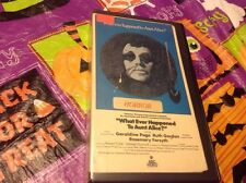 geraldine page WHAT EVER HAPPENED TO AUNT ALICE ? ruth gordon, Vhs, Magnetic Vid