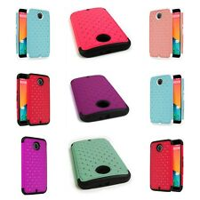 Tough Diamond Bling Hybrid Slim Phone Cover Case for Motorola Google Nexus 6