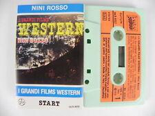 NINI ROSSO I grandi films western colonne sonore stereo MC Musicassetta Tape