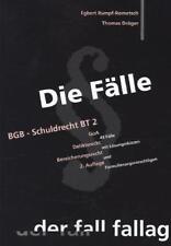BGB Schuldrecht BT 2 von Thomas Dräger und Egbert Rumpf-Rometsch (2014, Taschen…