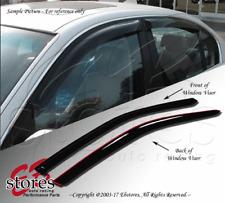 Vent Shade Window Visors For Honda Prelude 92 93 94 95 96 S Si VTEC 2pcs