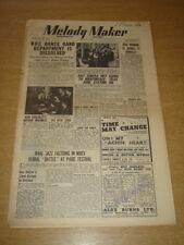 MELODY MAKER 1948 MAY 22 BBC DANCE BAND NAT TEMPLE JOSE NORMAN +