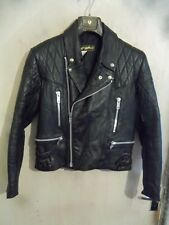 VINTAGE 70'S LEWIS LEATHERS NEVADA LEATHER MOTORCYCLE JACKET SIZE 40