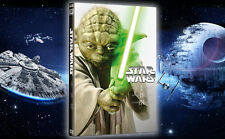 STAR WARS prequel Trilogy I II III -cofanetto 3 DVD nuovo sigillato slip EDICOLA