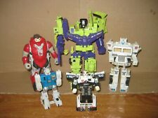 TRANSFORMERS G1 DEVASTATOR LOT c with EXTRAS
