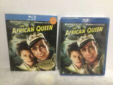 The African Queen Blu-Ray Movie Adventure Romance 1951 Bogart Hepburn