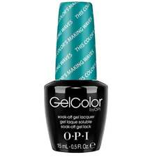 OPI Gel Color - Soak off Gel Polish - This Colour Making Waves 15ml (GC H74)