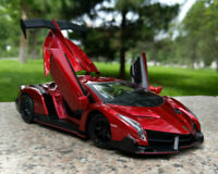 Kimonca 1:24 Diecast Lamborghini VENENO Static Alloy Super Car Model Toys Gifts