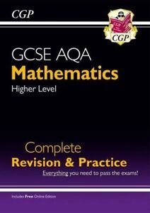 New GCSE Maths AQA Complete Revision & Practice: Higher - Grade 9-1 Course (w.
