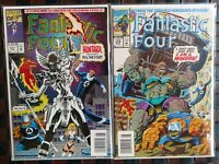 Fantastic Four #377(VF) &#379(NM)& #395(NM) Wolverine Guest Apearance FREE SHPNG