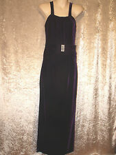 Leaver's Prom Formal Gown Long Plum Coloured Velvet Dress