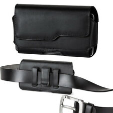 Modes Premium Leather Belt Clip Case Pouch Holster with Otterbox Holster on it