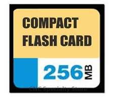 256MB Compact Flash Card