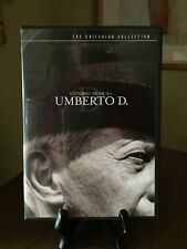UMBERTO D. - Criterion Collection DVD, #201, R1, OOP, Pristine, Rare
